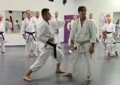 Sensei Rick Hotton and sensei Tom